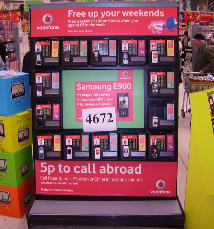 Vodafone Display