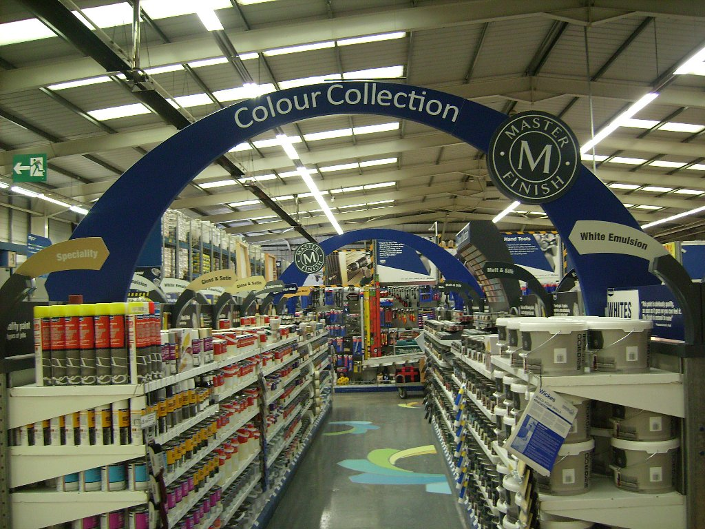 Wickes New Paint Department