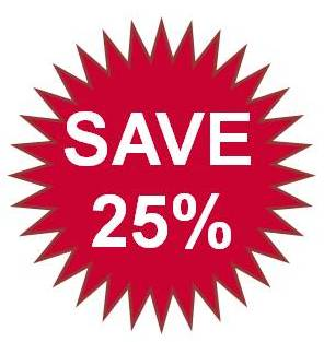 Save 25% on POS Production Costs